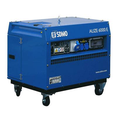 Генератор SDMO ALIZE 6000 E в Палласовкае
