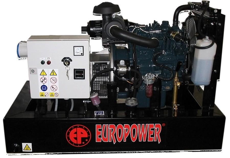 Генератор дизельный Europower EP 30 DE в Палласовкае