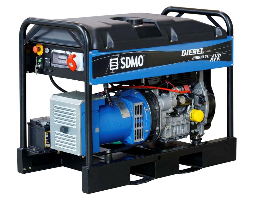 Генератор SDMO DIESEL 20000 TE XL AVR C в Палласовкае