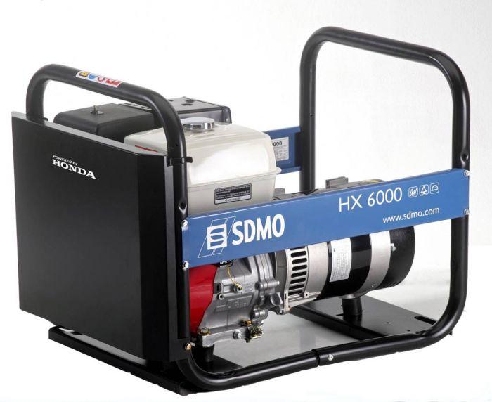 Генератор SDMO HX 6000-S в Палласовкае