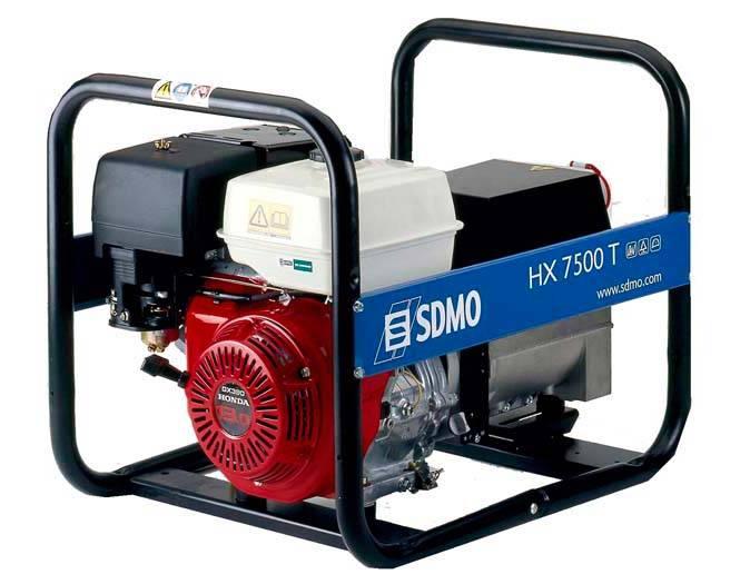 Генератор SDMO HX 7500 T-S в Палласовкае